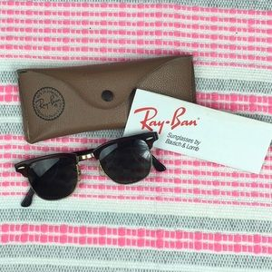 VINTAGE RAY-BAN WITH CASE